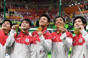 リオ体操金メダル2
